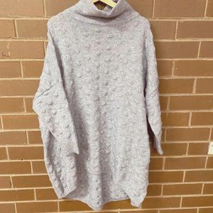 Cosy Cashmere Wool blend Turtleneck Sweater Jumper